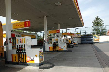Заправочная станция в Германии