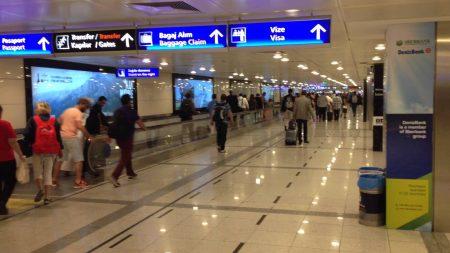 международный терминал 1 аэропорта Ататюрк