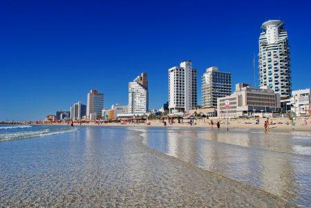 Тель-Авив - город на восточном побережье Средиземного моря, Израиль