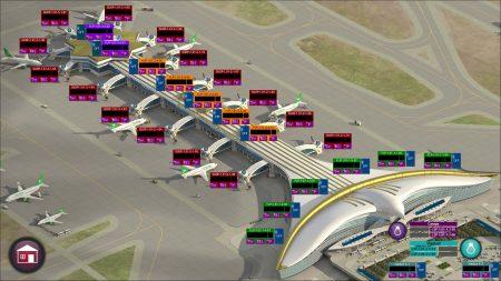 Карта расположения терминалов в аэропорте Ашхабада