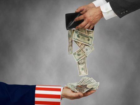 выплата налогов в США
