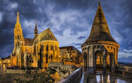 Будапешт, столица Венгрии