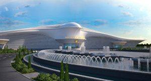 Международный аэропорт Ашхабада – столицы Туркмении