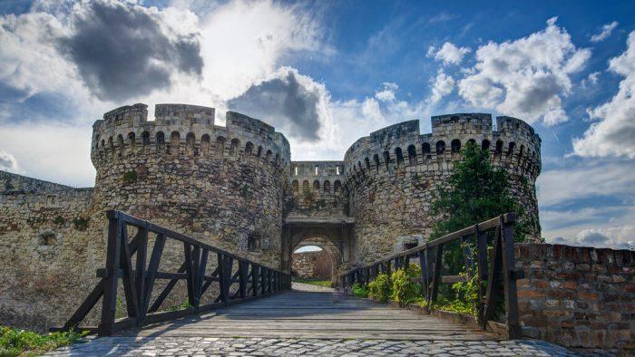 крепость в Белграде в Сербии