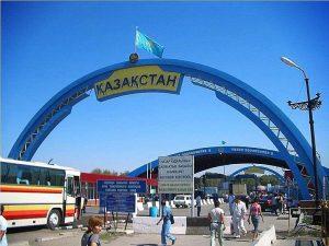 Пересечение границы с Казахстаном с ребенком