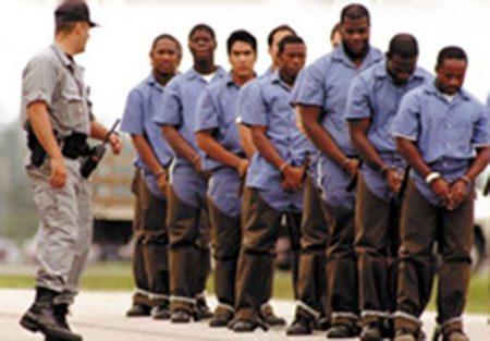 Тюрьма в США