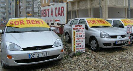 Аренда машины в Турции