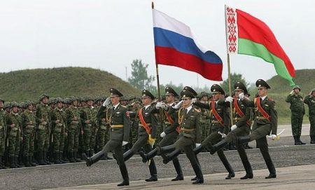 Проведения совместных учений военнослужащих России и Белоруссии