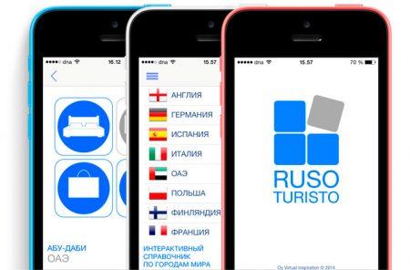 "Мобильное приложение ""Ruso Turisto"""