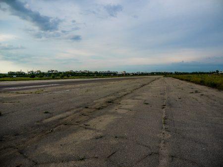 """взлётная полоса аэропорта """"Южный"""""""