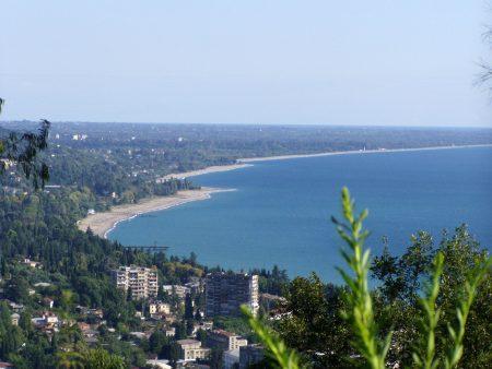 столица Республики Абхазия-Сухуми