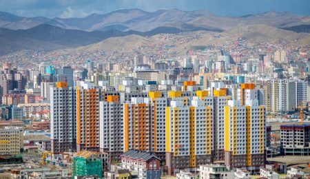 Улан-Батор, столица Монголии