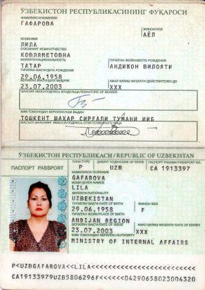 Паспорт иностранного гражданина