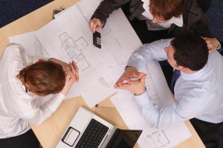 Архитекторы в работе