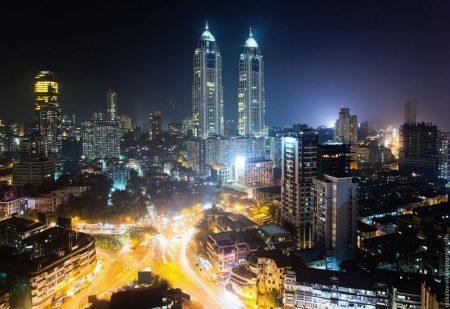 Мумбаи ночью