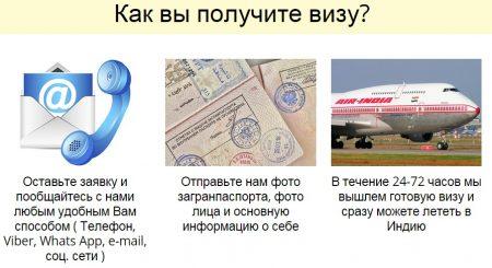 Способы получения электронной визы