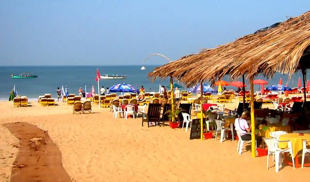 Пляж Бага на Гоа