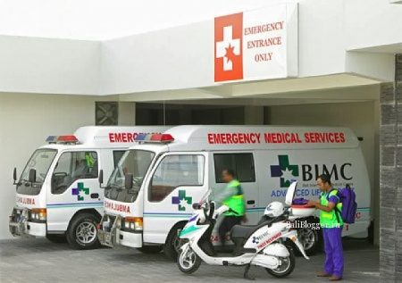 Скорая медицинская помощь на Бали