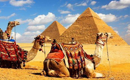 Великие Египетские пирамиды Гизы