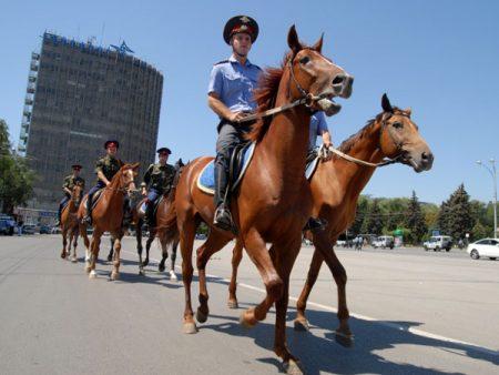 конная полиция