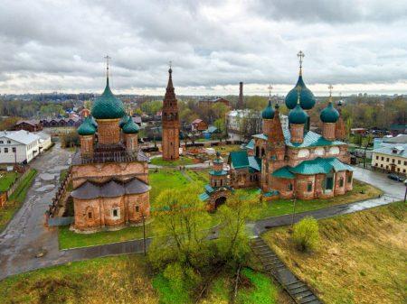 """храмовый комплекс в """"Коровниках"""""""