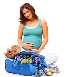 путешествие беременных за границу