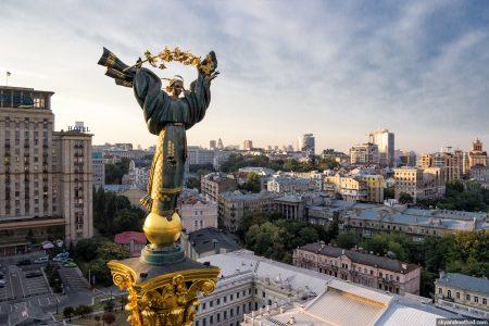 Майдан Незалежности - главная площадь Киева