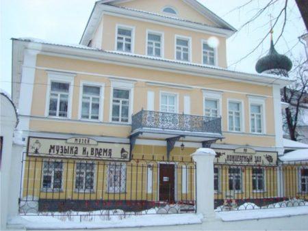 """музей Джона Мостославского """"Музыка и время"""""""