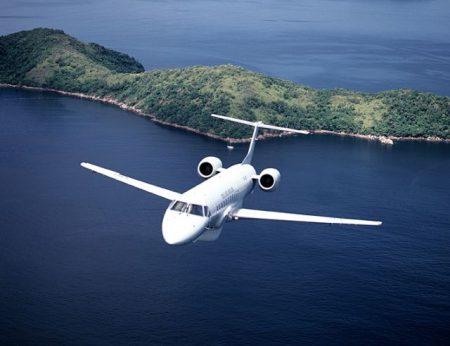 Самолет над Гоа