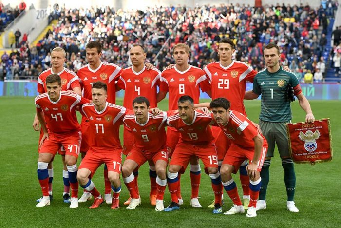 Сборная России на чемпионате мира 2018 года