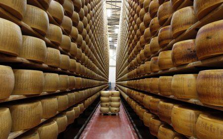 Сырное хранилище, Италия
