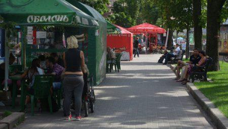 Уличная торговля в Киеве