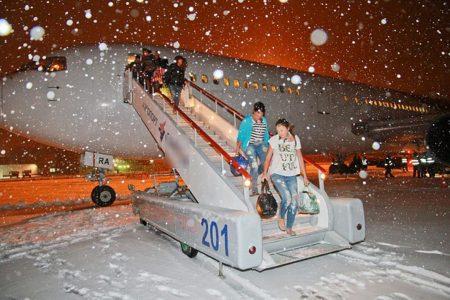 Путешествия зимой