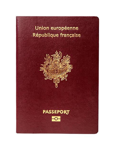 Как выглядит паспорт гражданина Франции