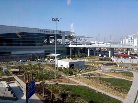 Третий терминал международного аэропорта Индиры Ганди