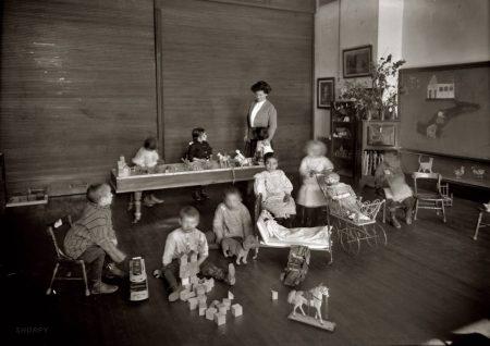 Американский детский сад в конце 19 века