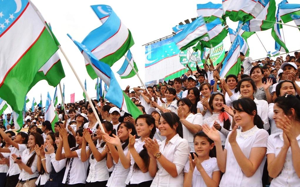 Молодежь Узбекистана