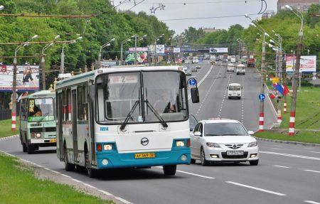 общественный транспорт Нижнего Новгорода