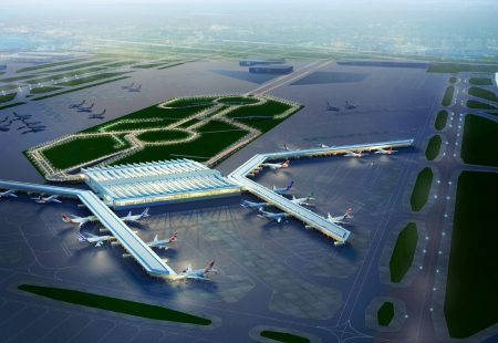 Международный аэропорт Индиры Ганди в Индии