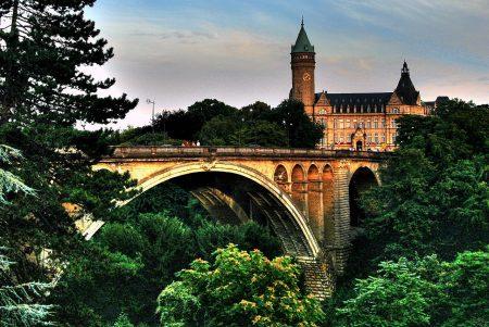 Мост Адольфа в Люксембурге