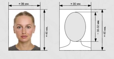 размер фото на визу