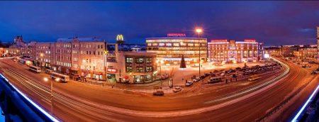 Канавинский район в Нижнем Новгороде