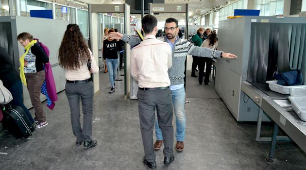 Безопасность в аэропортах Турции усиленна, в связи с терактами