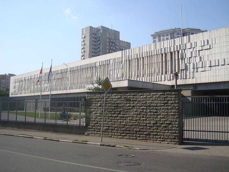 Запись в посольство Польши