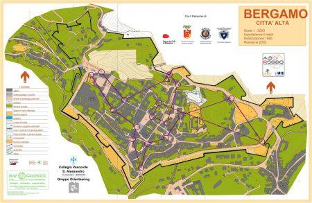 Подробные карты Бергамо