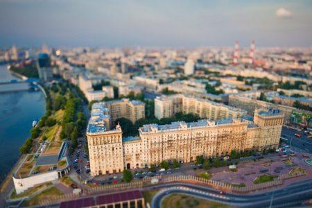 городская среда в России