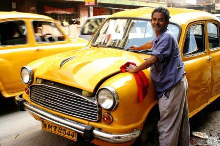 Вот так выглядят таксисты в Индии