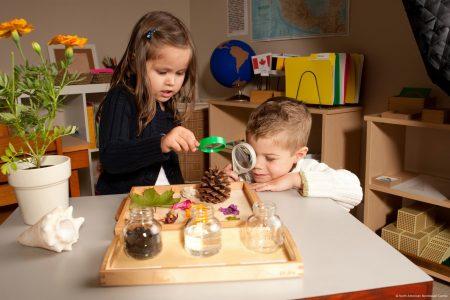 занятия в детском саде США