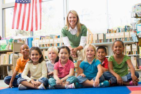 Детский сад в США