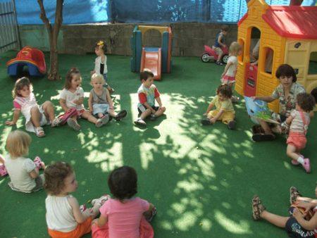 Прогулка в детских садах США